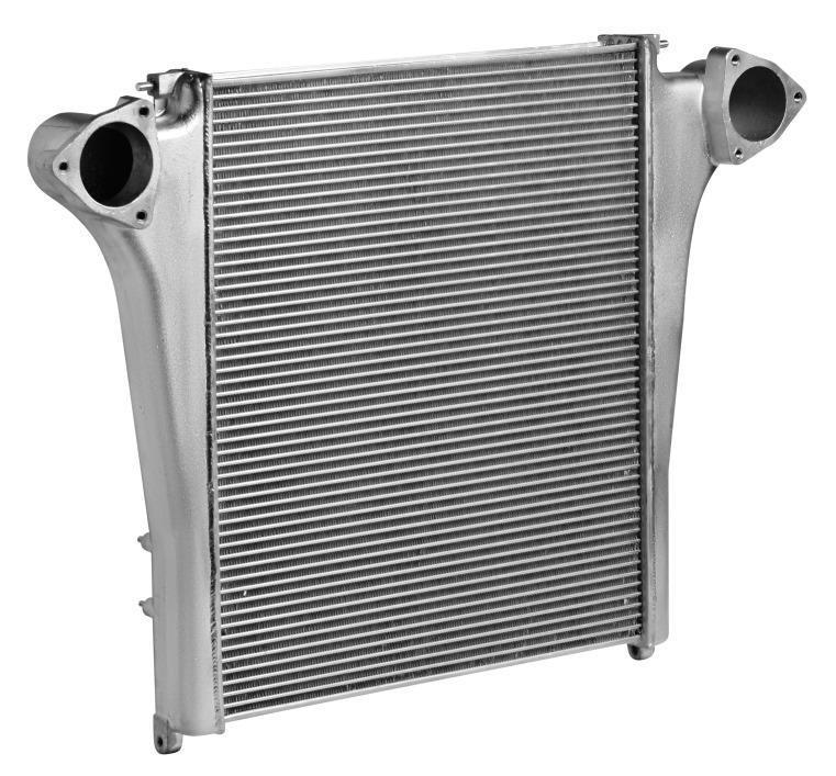 ОНВ (радиатор интеркулера) для а/м КАМАЗ 65224 LUZAR фото