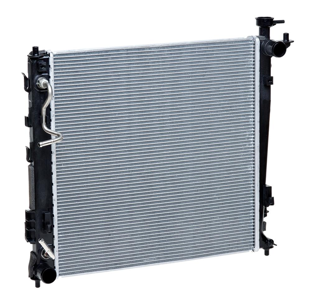 Радиатор охлаждения для а/м Sportage III (10-)/iX35 (10-) D AT LUZAR фото