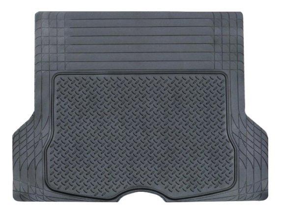 Ковер полимерный в багажник автомобиля универсальный, цвет - черный, размер 133х111см AIRLINE