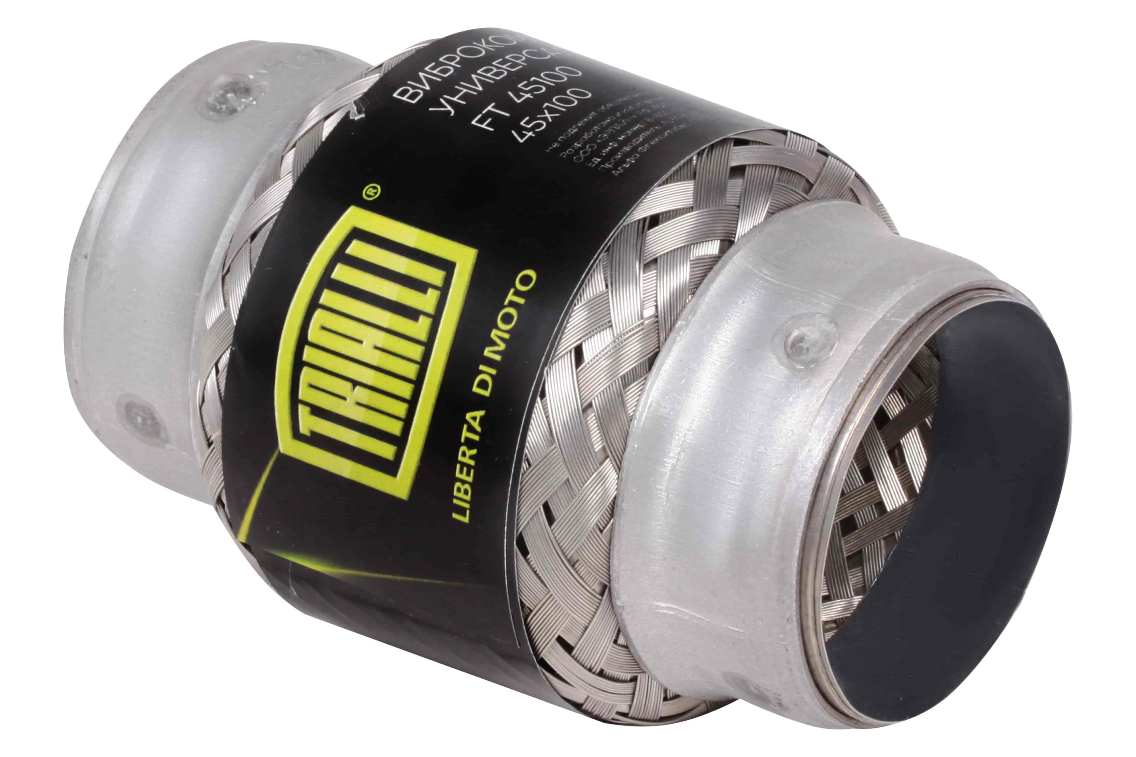 Виброкомпенсатор выхлопной трубы (Гофра) 45x100 InnerBraid TRIALLI фото