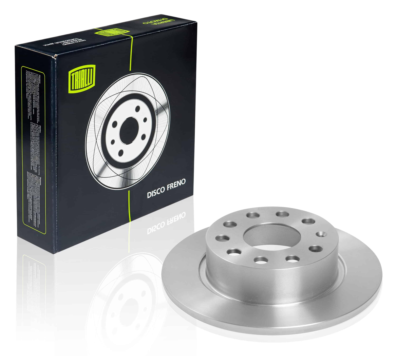 Диск тормозной задний для автомобилей Skoda Octavia (04-) d=253 TRIALLI фото