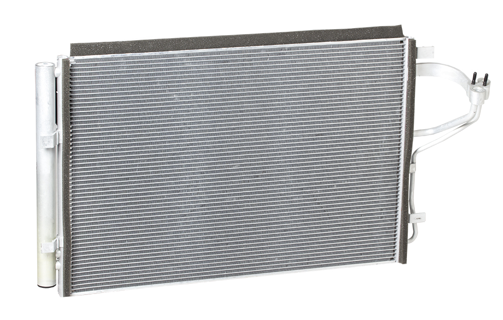 Радиатор кондиционера CEE'D/Elantra (11-) LUZAR фото