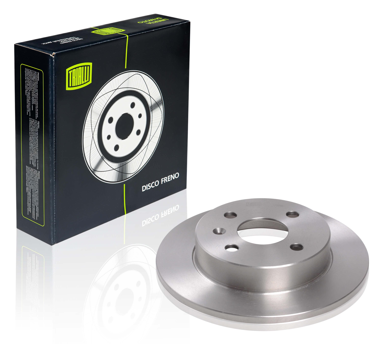 Диск тормозной задний для автомобилей Opel Astra H (04-) d=240, 4 отв. TRIALLI фото