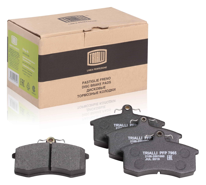 Колодки торм. диск. пер. для автомобилей ВАЗ 2108-21099 Linea Perfezione TRIALLI фото