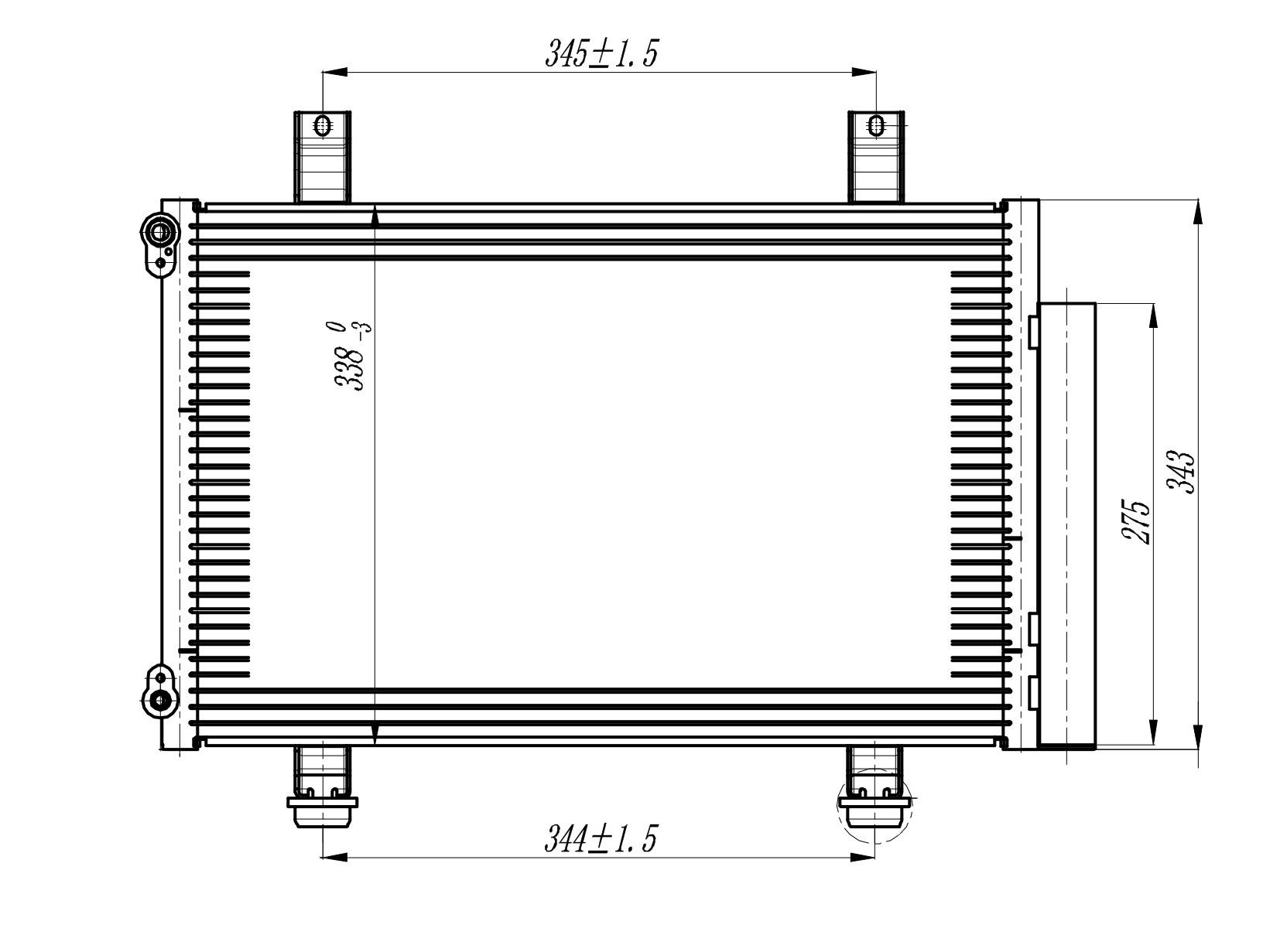 Радиатор кондиционера Swift (05-) LUZAR фото