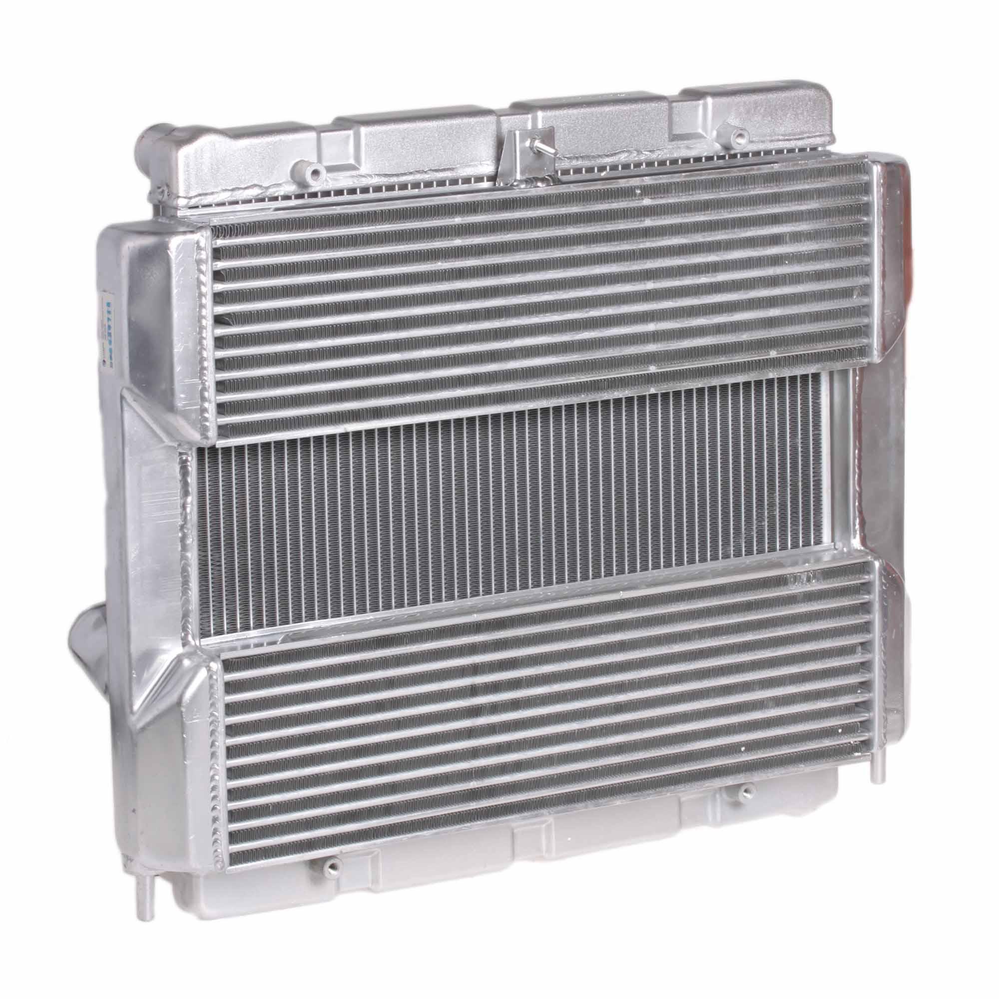 Блок охлаждения (радиатор+интеркулер) для автомобилей GAZelle Business Cummins 2.8D LUZAR фото