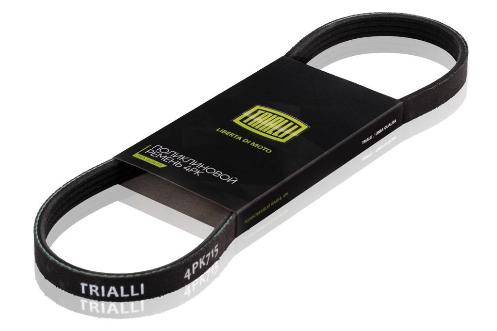 Ремень поликлиновой 4PK900 TRIALLI фото