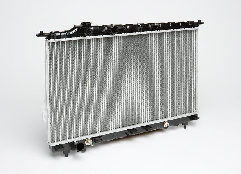 Радиатор охлаждения Sonata (98-) AT LUZAR фото